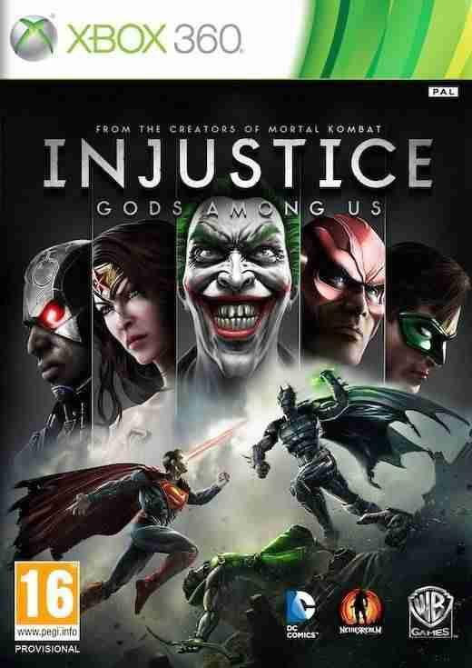 Descargar Injustice Gods Among Us [MULTI][Region Free][XDG3][SWAG] por Torrent